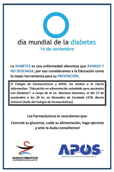 Educación en alimentación saludable para pacientes con diabetes